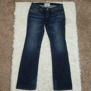 Sz 30L Jeans Big Star Liv Boot 30 Long Stretch